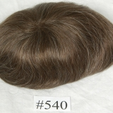 Color #540 Medium Brown with gray